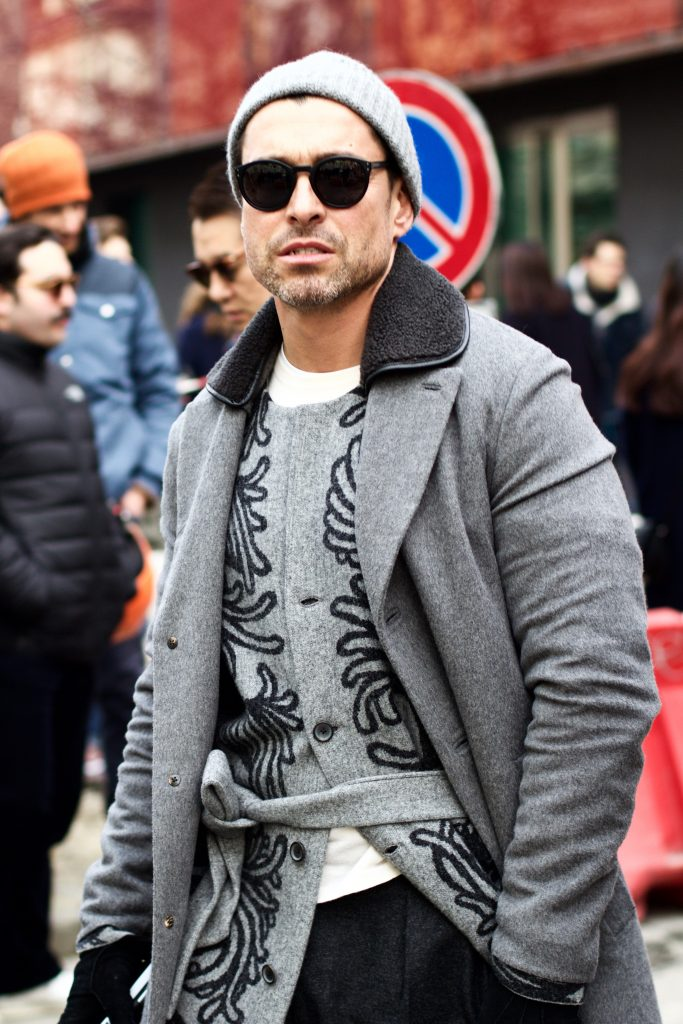 MILAN FASHION WEEK STREET STYLE - 50 SHADES OF GREY