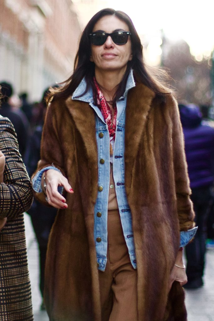 MILAN FASHION WEEK STREET STYLE - STYLISH LESSON FROM VIVIANA VOLPICELLA